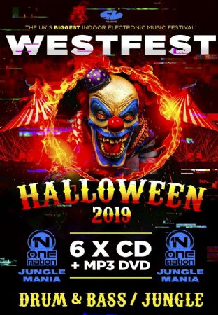 Westfest - 2019 - Drum & Bass - CD Pack